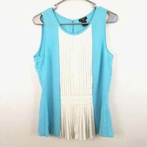 *4 for $24* Ann Taylor Peplum Sheer Sleeve